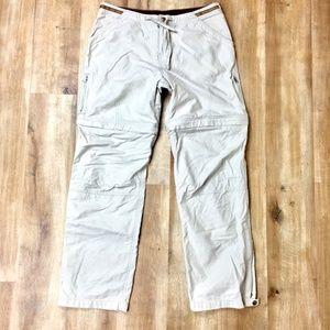 KUHL Zip Off Hiking Pants Khaki M
